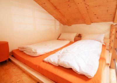 Melanies Guesthouse Doppelbett im Hochbereich