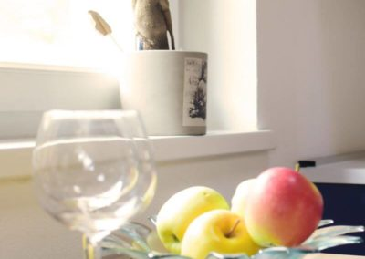 Melanies Guesthouse Stilleben mit Äpfeln