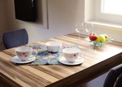Melanies Guesthouse tavolo