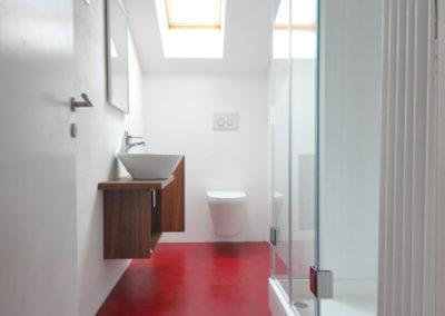 Melanies Guesthouse - Blick ins Badezimmer