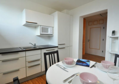 Melanies Guesthouse Küche Ferienwohnung